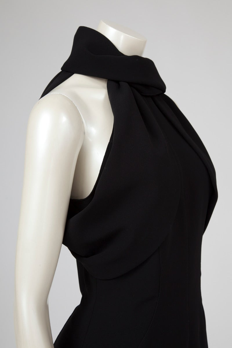 Thierry Mugler Silk Crepe Jumpsuit In Excellent Condition For Sale In Geneva, CH