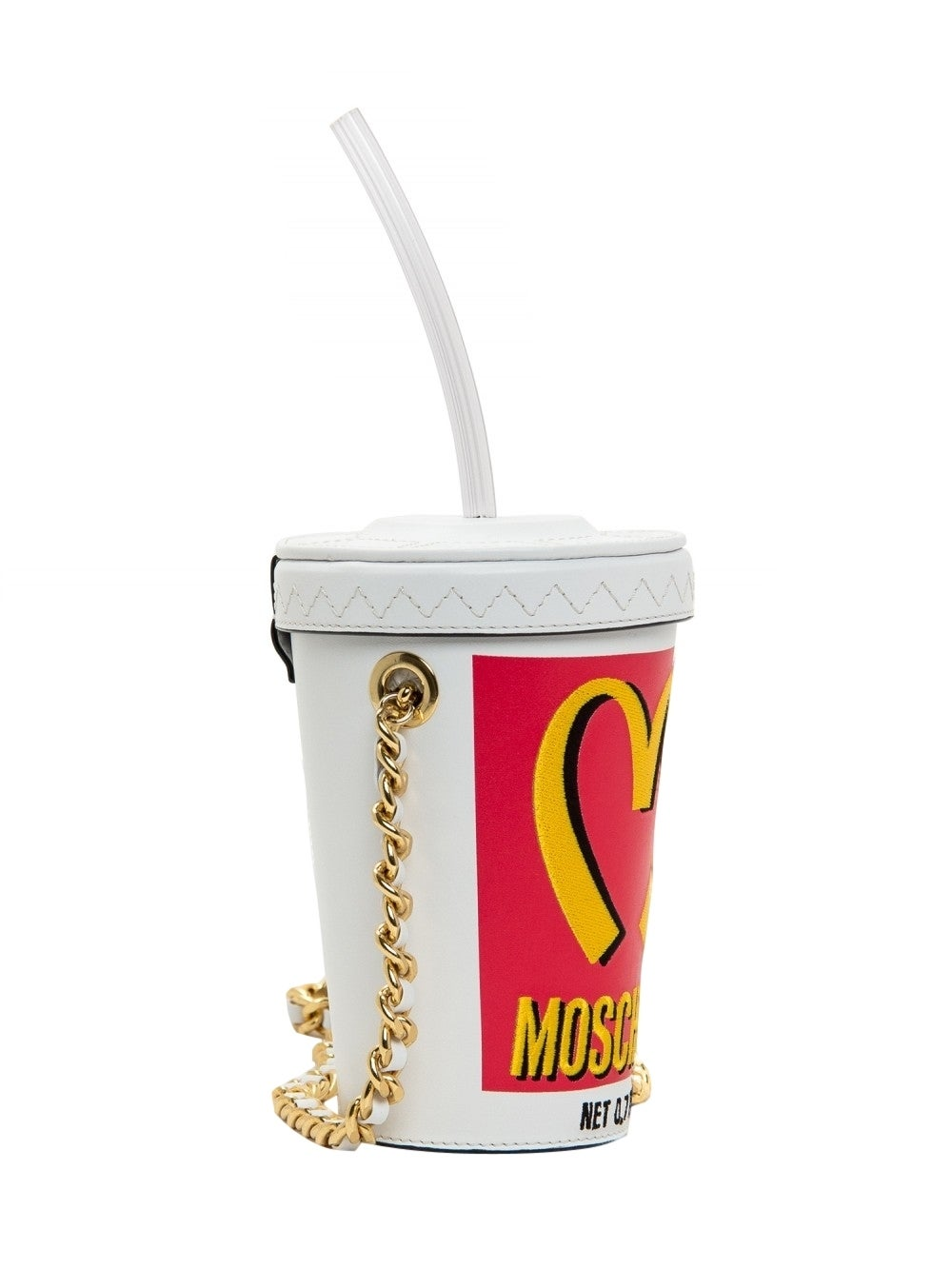 Moschino Couture ! Milkshake Leather Crossbody Bag 2