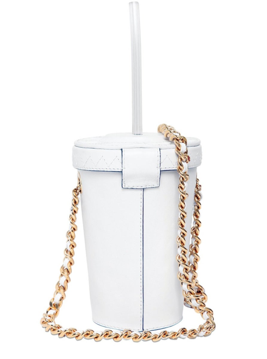 Moschino Couture ! Milkshake Leather Crossbody Bag 3