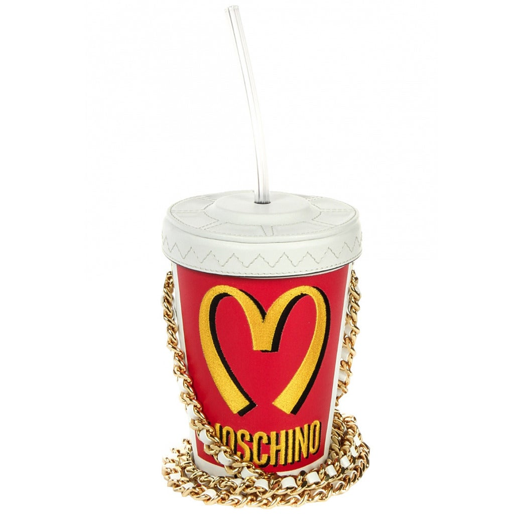 Moschino Couture ! Milkshake Leather Crossbody Bag 1