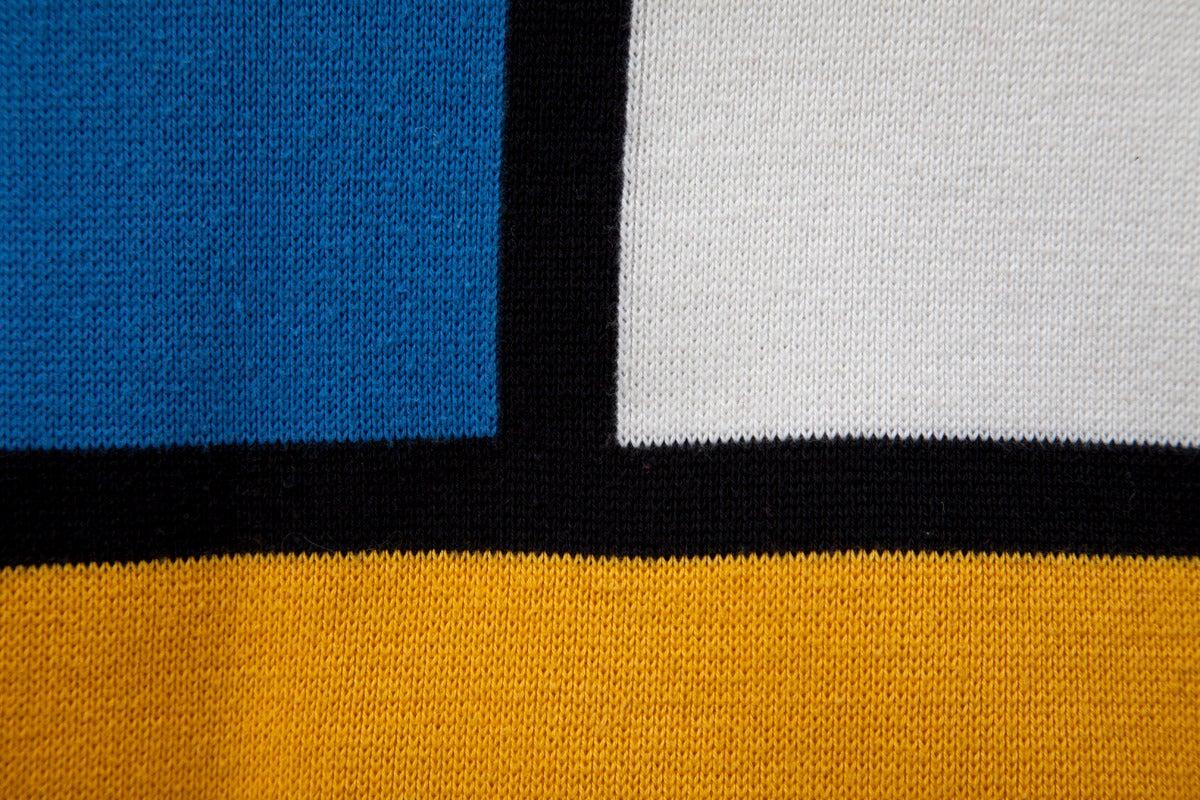 """Yves Saint Laurent """"Mondrian"""" Cotton Dress 6"""