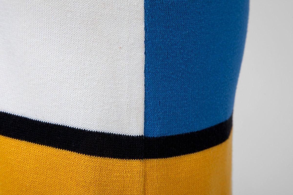 """Yves Saint Laurent """"Mondrian"""" Cotton Dress 7"""