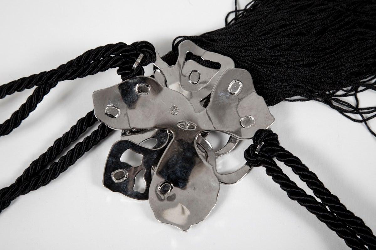 Women's New Valentino Flower Tassel Belt For Sale