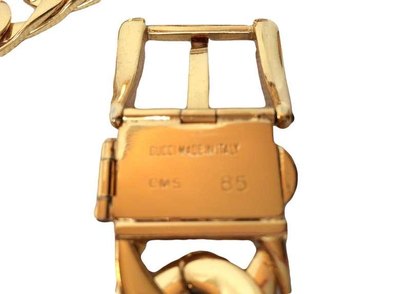 "Gucci ""Trompe L'Oeil"" Chain Belt 3"