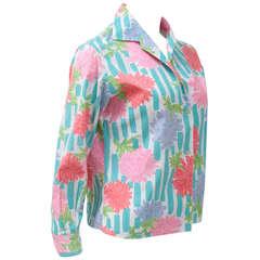 Emilio Pucci Print Cotton Shirt