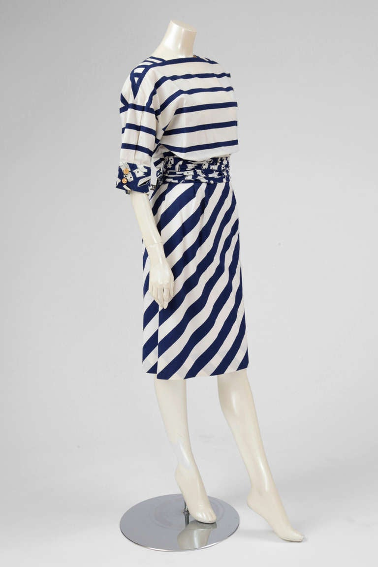 Chanel Cotton Print Dress 3