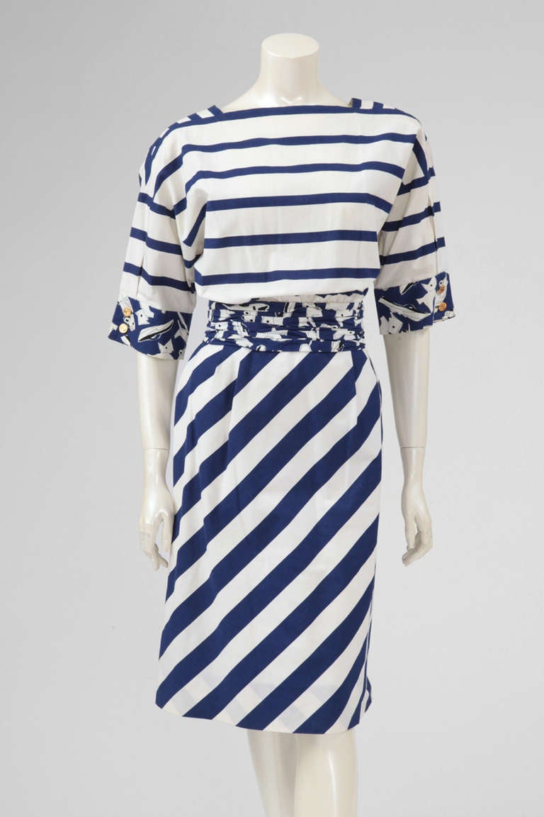 Chanel Cotton Print Dress 2