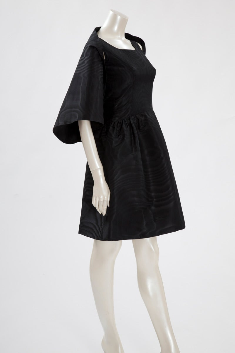 Balenciaga Haute Couture Moiré Cocktail Dress, Spring-Summer 1963 3