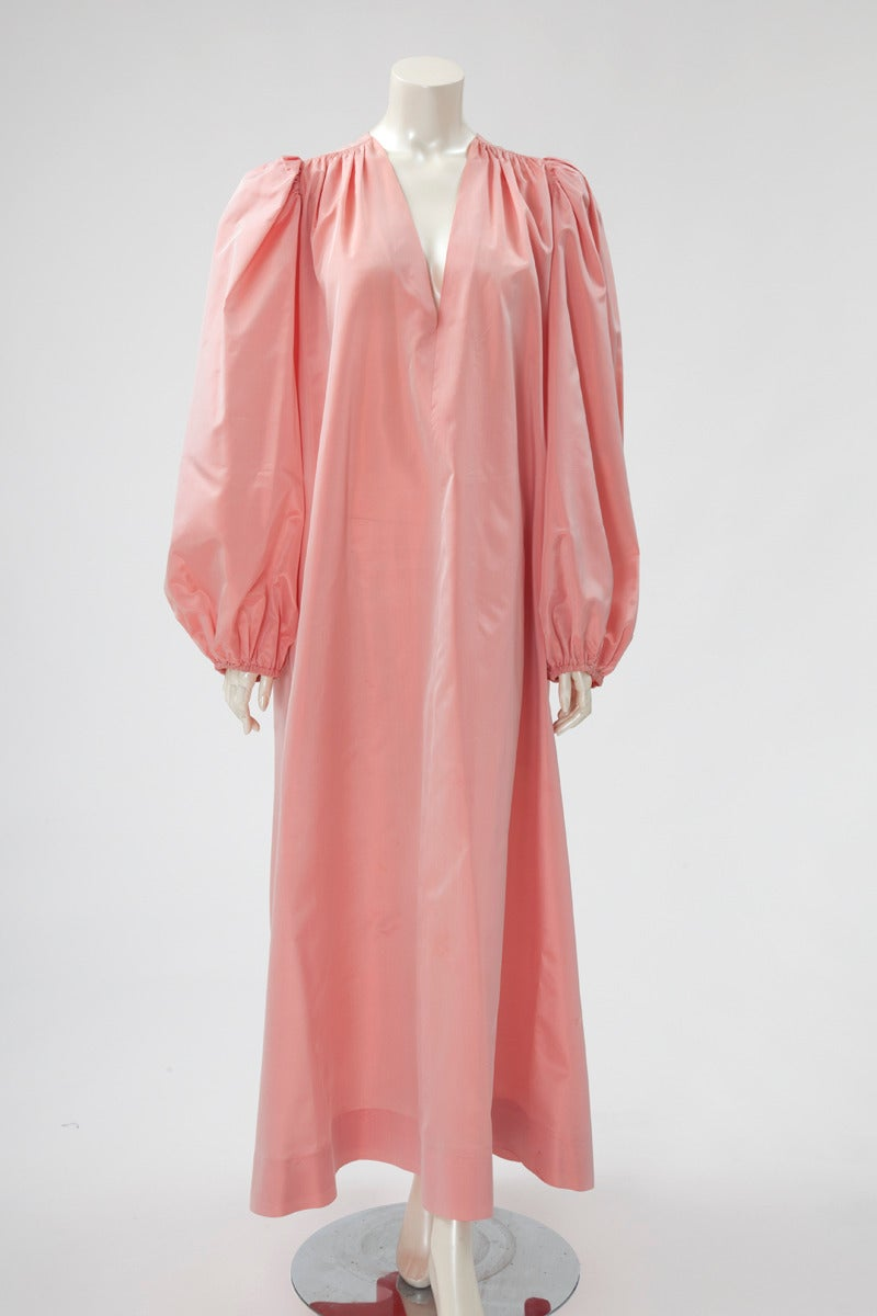 Women's Yves Saint Laurent Silk Taffeta Gown For Sale
