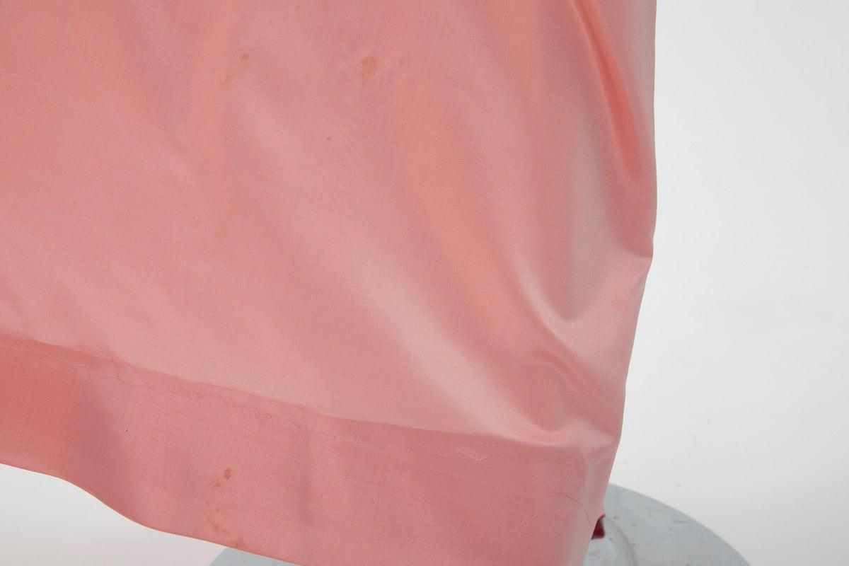 Yves Saint Laurent Silk Taffeta Gown For Sale 2