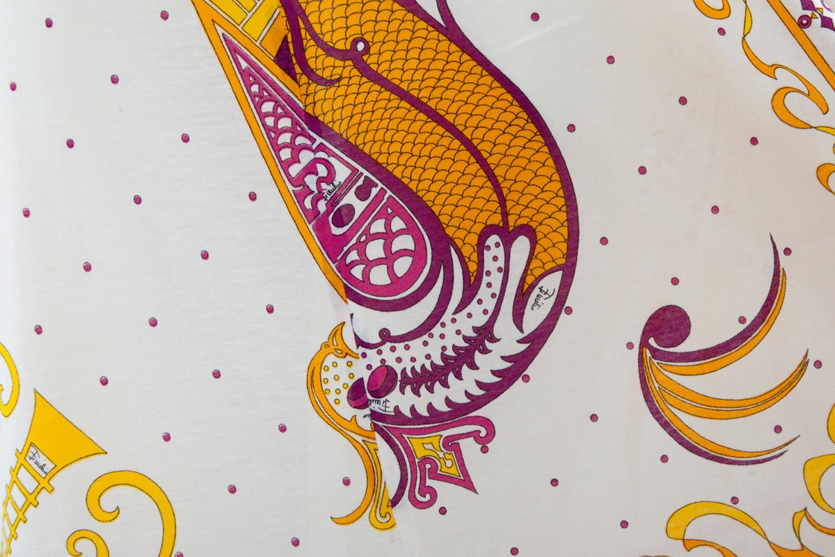 Emilio Pucci Printed Cotton Maxi Dress 6
