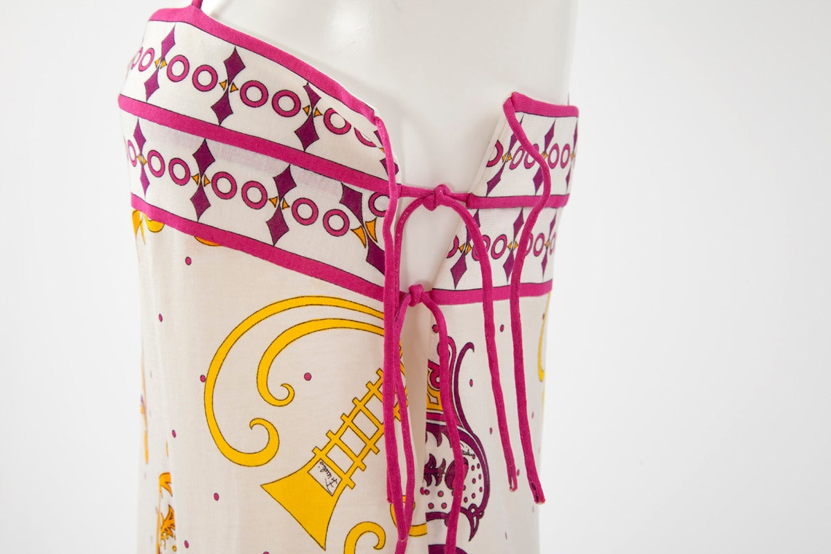 Emilio Pucci Printed Cotton Maxi Dress 8