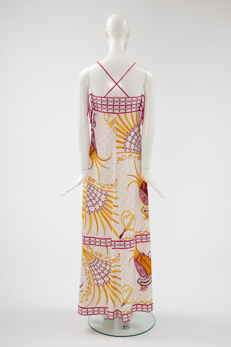 Emilio Pucci Printed Cotton Maxi Dress 5