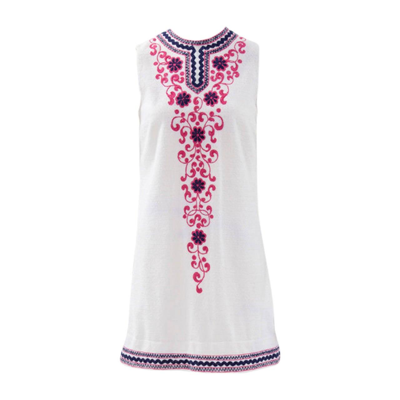 Pirovano Terrycloth Minidress