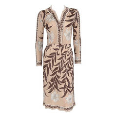 Emilio Pucci Printed Silk Jersey Dress