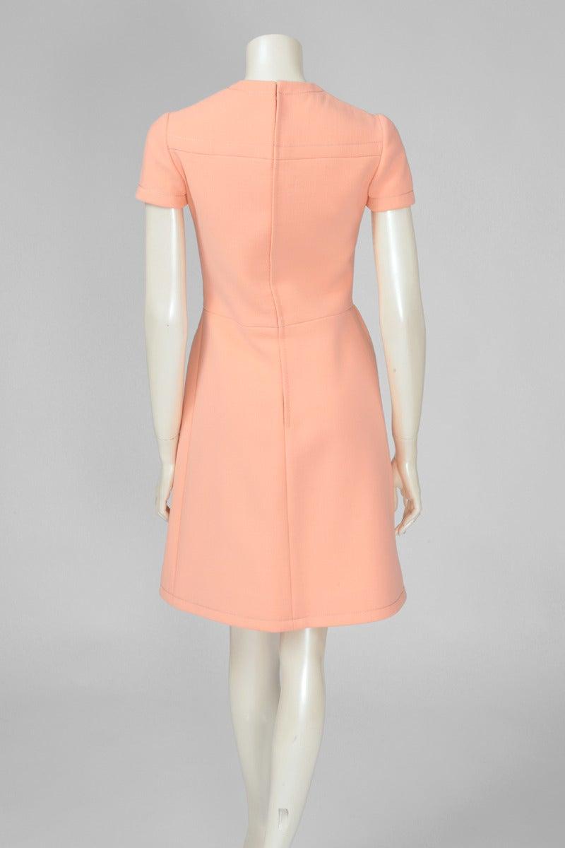 Jean-Louis Scherrer Wool Day Dress 5