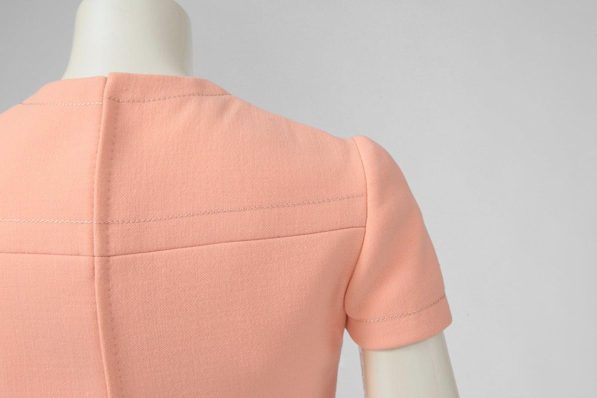 Jean-Louis Scherrer Wool Day Dress 6