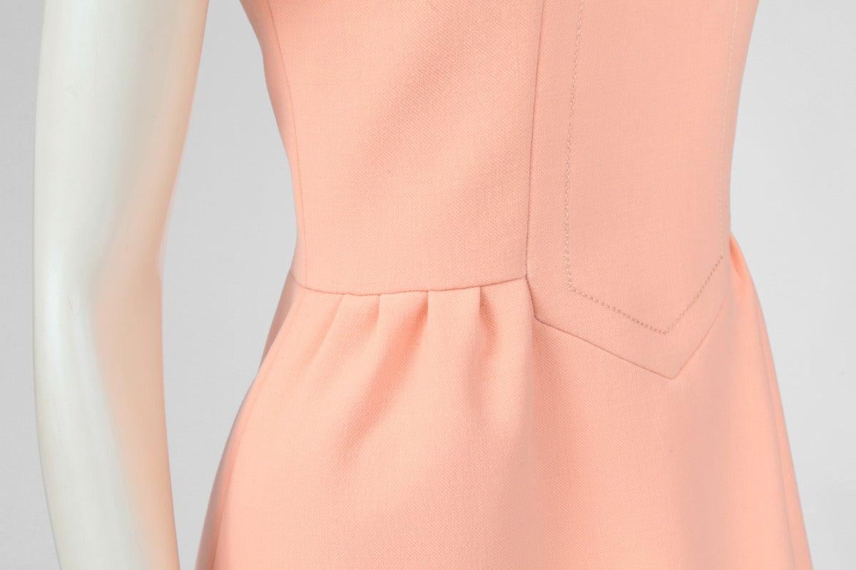 Jean-Louis Scherrer Wool Day Dress 4