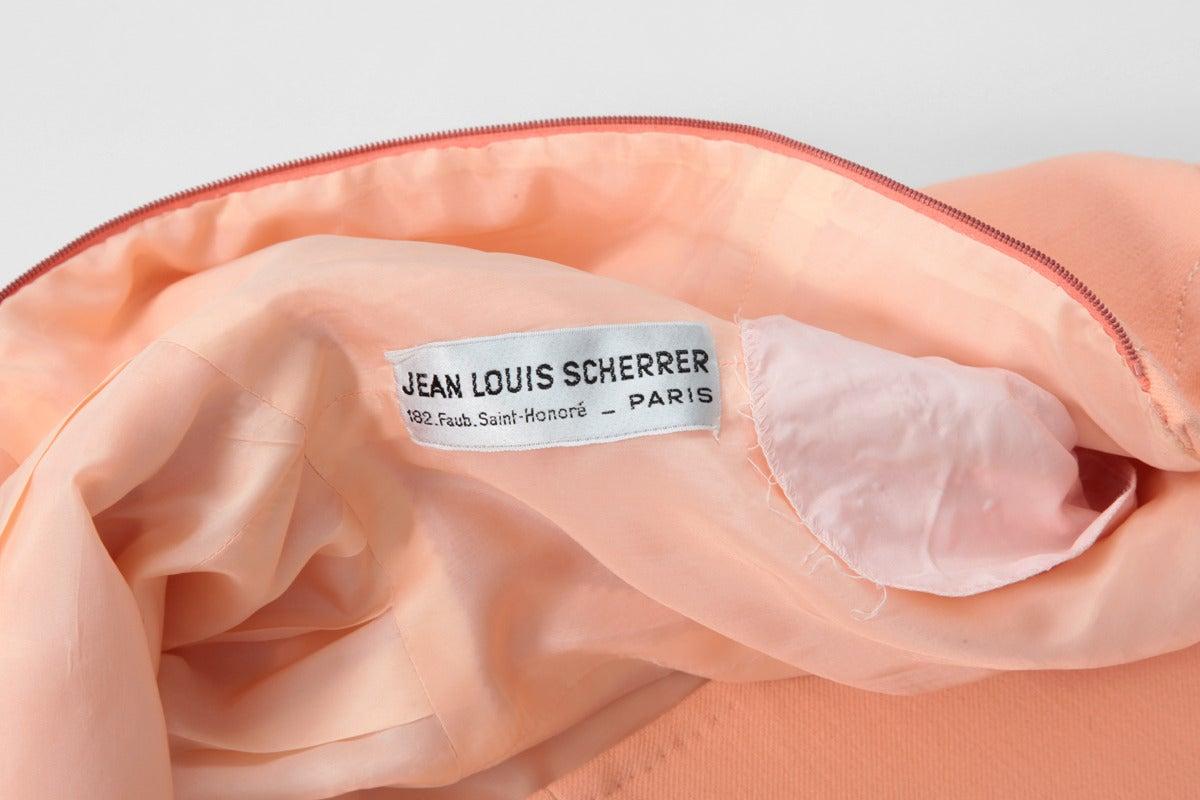 Jean-Louis Scherrer Wool Day Dress 10