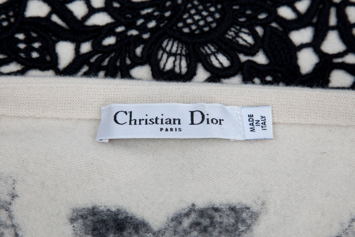 Christian Dior Wool & Cashmere Sleeveless Skater Dress 7