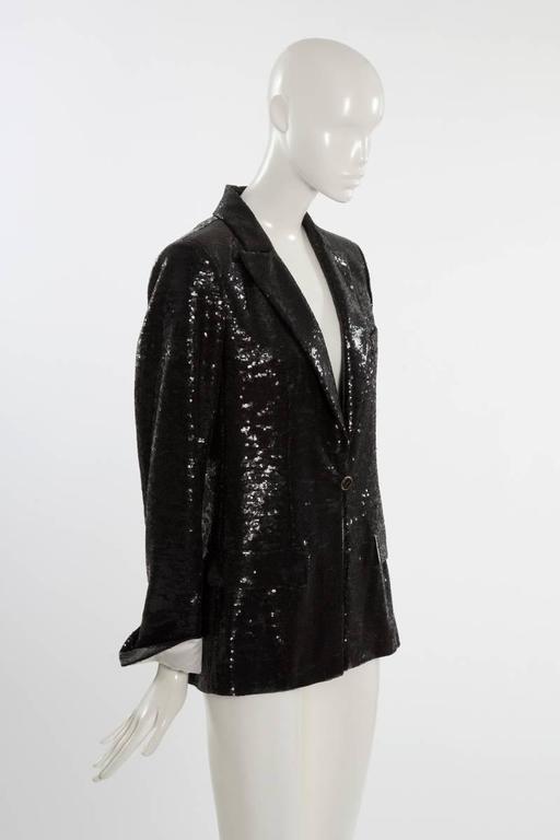 Black Chanel Paris - Miami Cruise Sequin Blazer For Sale