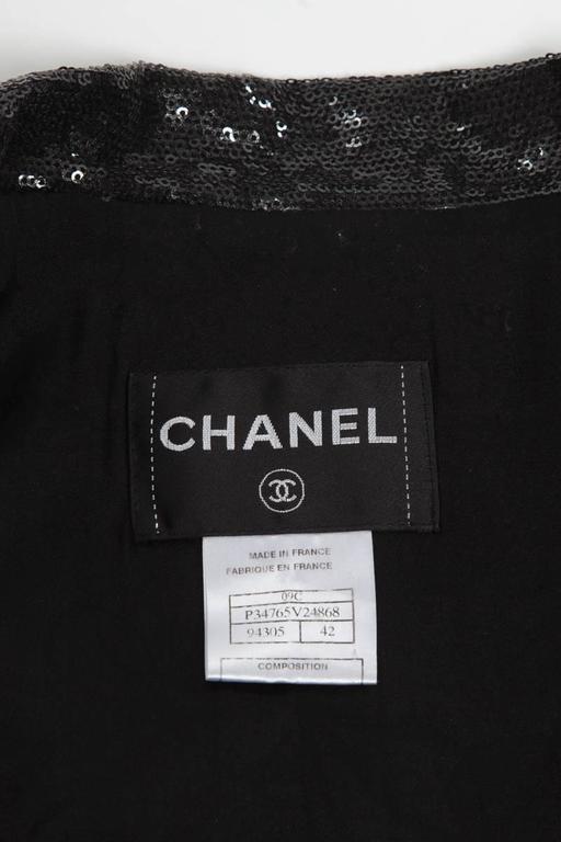 Chanel Paris - Miami Cruise Sequin Blazer For Sale 5
