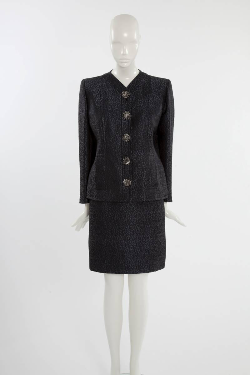 Yves saint laurent haute couture skirt suit for sale at for Haute couture sale