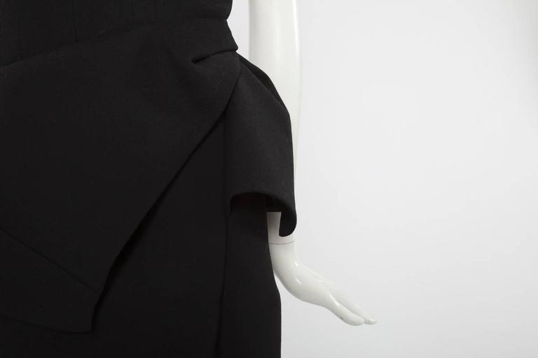 Iconic Balenciaga Runway Wool Dress, Fall-Winter 2008-2009 3