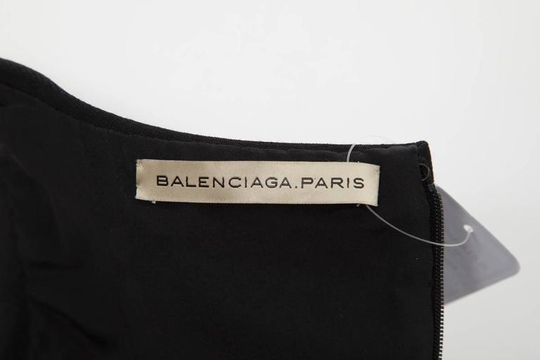 Iconic Balenciaga Runway Wool Dress, Fall-Winter 2008-2009 9