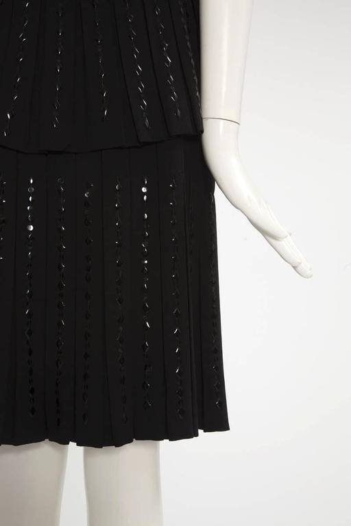 Hartnell Haute Couture Beaded Cocktail Dress, Circa 1960 For Sale 3