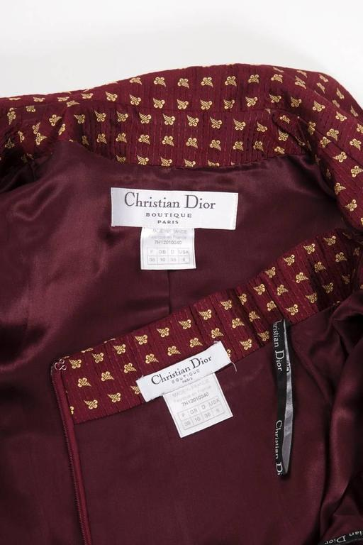 Christian Dior by John Galliano Runway Skirt Suit, Fall-Winter 1997-1998  For Sale 4