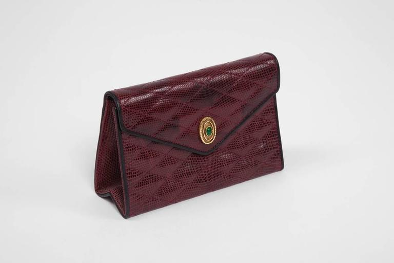 Chanel Embellished Lizard Bag  In Excellent Condition For Sale In Geneva, CH