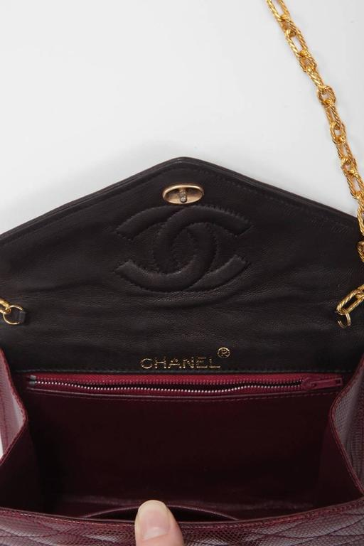 Chanel Embellished Lizard Bag  5