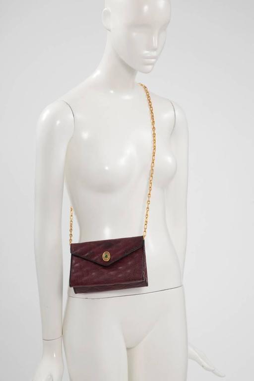 Chanel Embellished Lizard Bag  For Sale 3