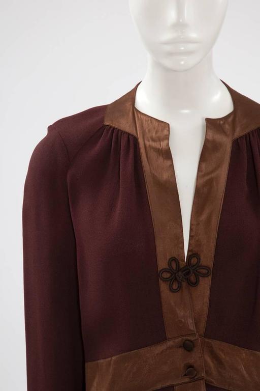 Ossie Clark Peplum Shirt Top   3