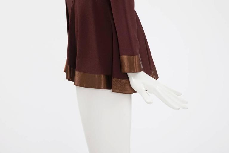 Ossie Clark Peplum Shirt Top   6
