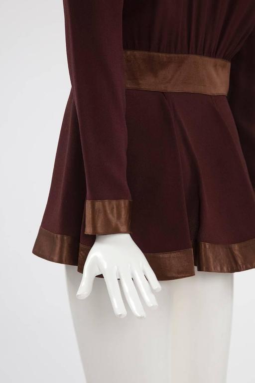 Ossie Clark Peplum Shirt Top   8