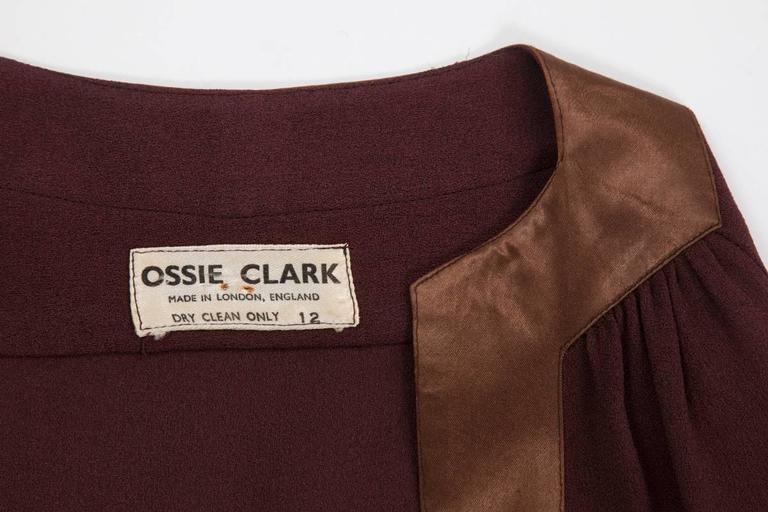 Ossie Clark Peplum Shirt Top   10