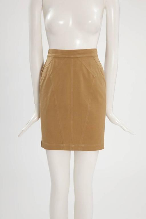 Iconic Alaïa Cord Skirt Suit   2
