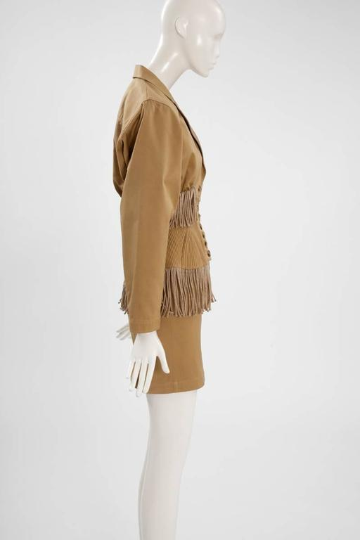 Iconic Alaïa Cord Skirt Suit   5