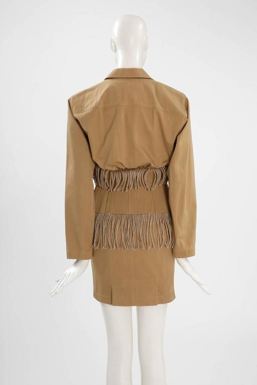 Iconic Alaïa Cord Skirt Suit   6