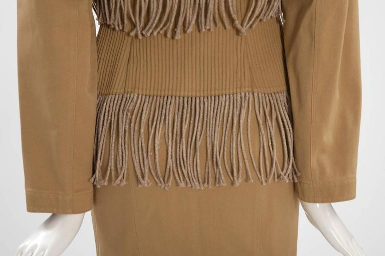 Iconic Alaïa Cord Skirt Suit   7