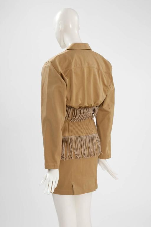 Iconic Alaïa Cord Skirt Suit   8