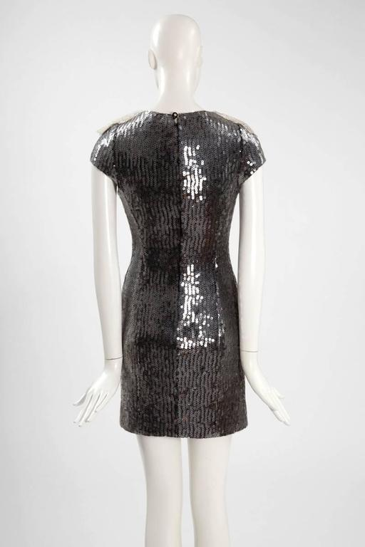 Chanel Sequined Mini Dress For Sale 2