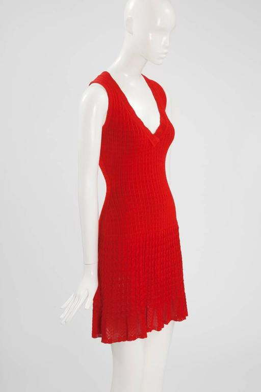 Alaïa Crochet Knit Dress, Spring-Summer 1992  4