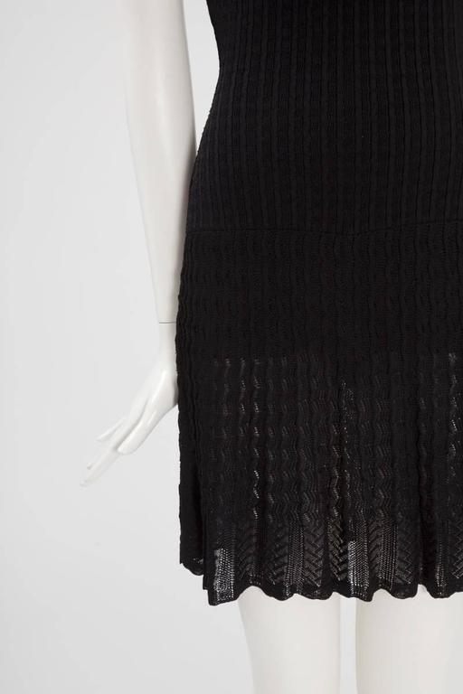 Alaïa Crochet Knit Dress, Spring-Summer 1992  3