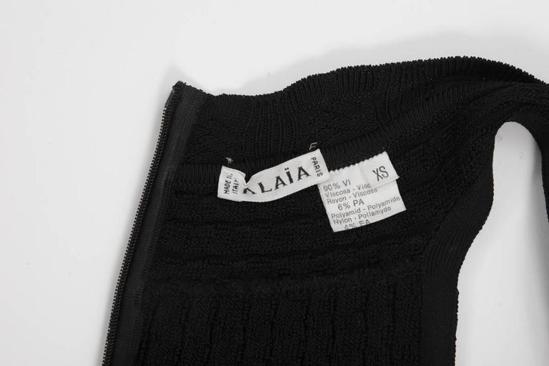 Alaïa Crochet Knit Dress, Spring-Summer 1992  10
