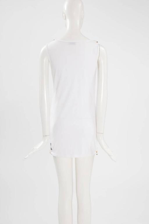 Moschino Cheap & Chic Safety Pin Mini Dress   For Sale 1