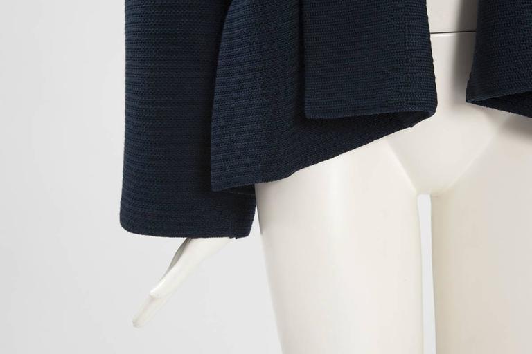 Rare Alaia Wool Knit Belted Kimono Jacket 3