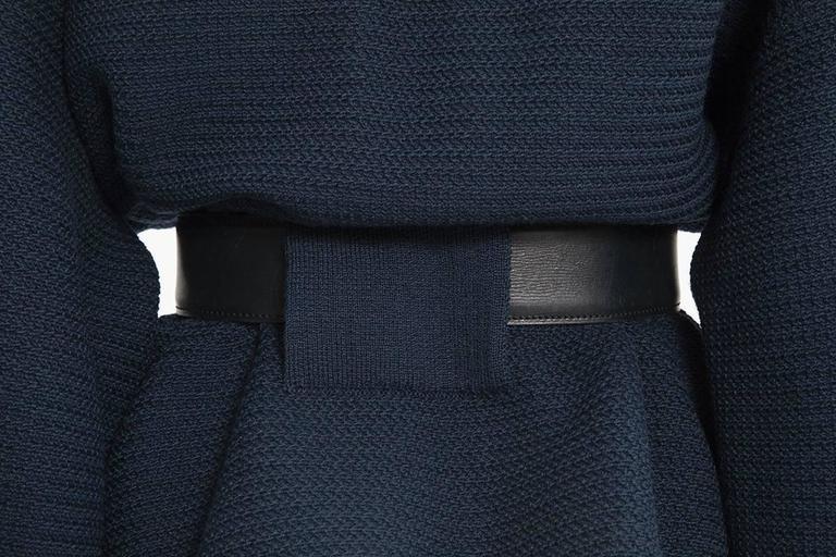 Rare Alaia Wool Knit Belted Kimono Jacket 7